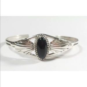 Jewelry - Dainty 925  ETCHED FEATHERS DESIGN CUFF BRACELET